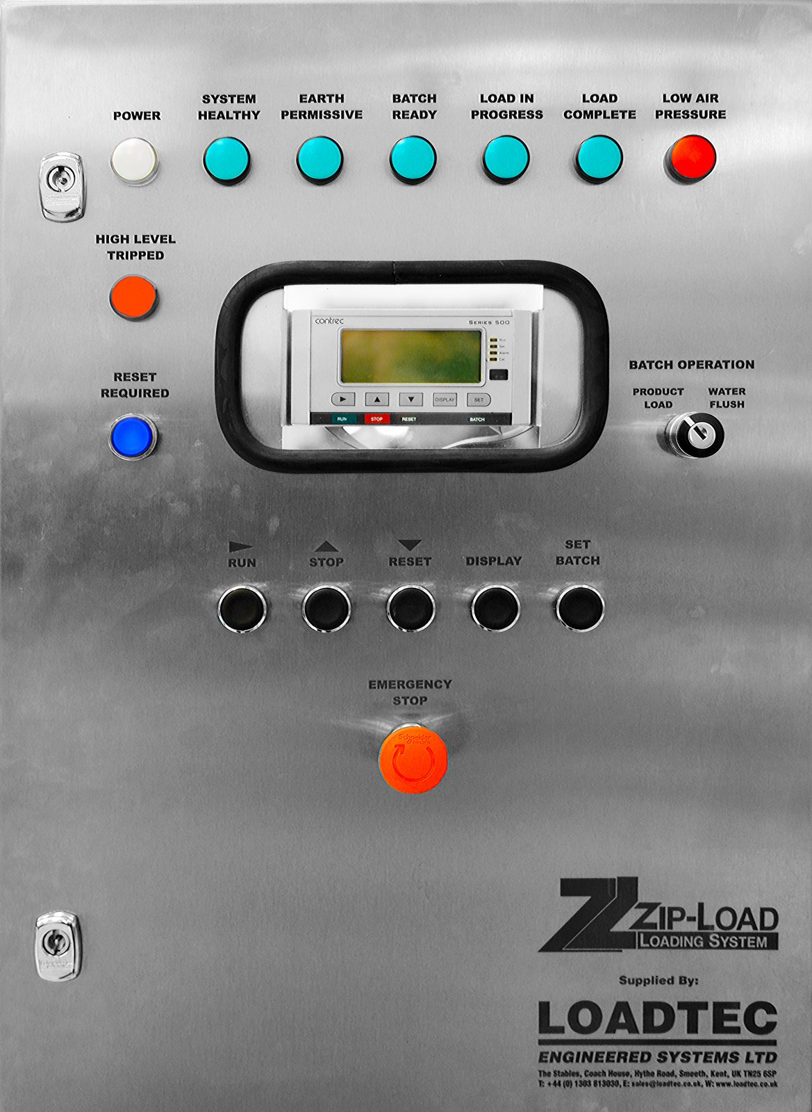 Control Panels - In Control Projects